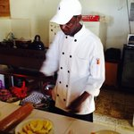 Paulo, our chef!