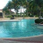 quiet flowing pool