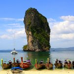 One of the islands arround Ao Nang