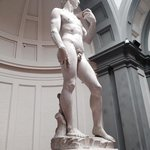 david--right larger than left, symbolizing hand of God
