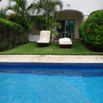 Swim-Up and Patio Area