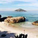 Canto esquerdo da Praia de Grumari