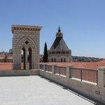 Soeurs de Nazareth - la terrasse sur les toits