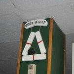 Sign at Desk