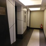 Entrance to the lift/elevator