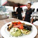 Nadia Restaurant Summer grill terrace