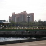 View of Atlantis from the dock.
