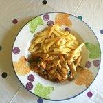 Chicken and chilli stir fry