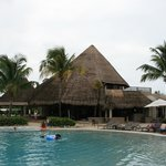 bar della spiaggia/piscina