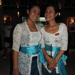 Two of the beautiful staff Kris and Widi