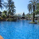 The big pool with the poolbar