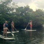 Oleta River Peddle Boarding