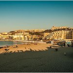 Mellieha Beach and Seabank Hotel Sunset 2