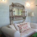 Living Room in The Bluebonnet Barn
