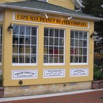 Front of Cape May Peanut Butter Co.