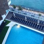 Swimming pool from 5th floor