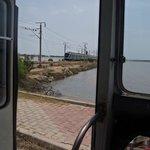 train 20min walk from hotel