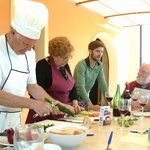 Cooking class at the villa