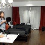 habitación espaciosa