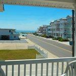 Beach House Sundeck View