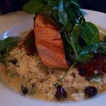 Salmon and lamb