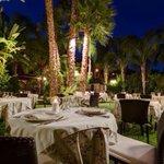 Our beautiful garden restaurant