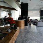 Reception area- Hotel Suba