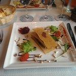 Mille feuille de foie gras
