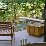 balcony of large Andaz suite