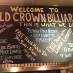 Gold Crown Billiards Bar & Grill