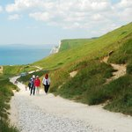 The Path from Durdle Door back to the Car Park