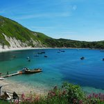 Lulworth Cove From Above