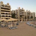 Hotel vom Strand auch gesehen