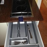 de quoi faire la cuisine dans votre suite !!!