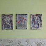 декор, картины над кроватью