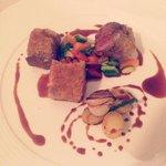 Amazing lamb filet at Bosquet!