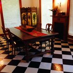 Spacious dining area at Grand-pere's House