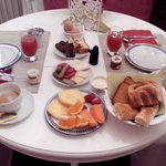 Café da manha - Breakfast at your room