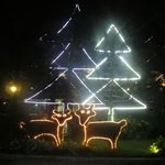 ganzjährige Weihnachtsdeko