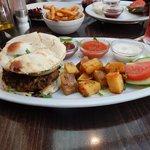 My Indian Burger!!!
