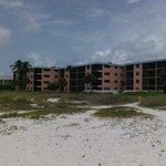 Anlage von der Strandseite gesehen