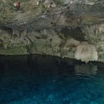 Entrance of the cenote