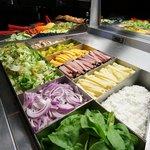 Salad. Bar. Enough said.