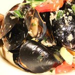 Peppered mussel pot