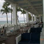 Porch at the Pelican