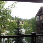 Large porch/balcony with great views!