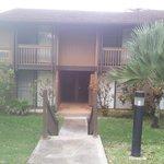 entrada principal do apartamento