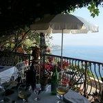 herrlicher Ausblick von der Terrasse