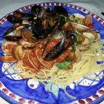 Spaghetti alla pescatora (frutti di mare)
