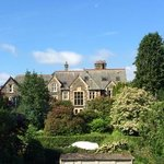The vicarage, viewed from our window